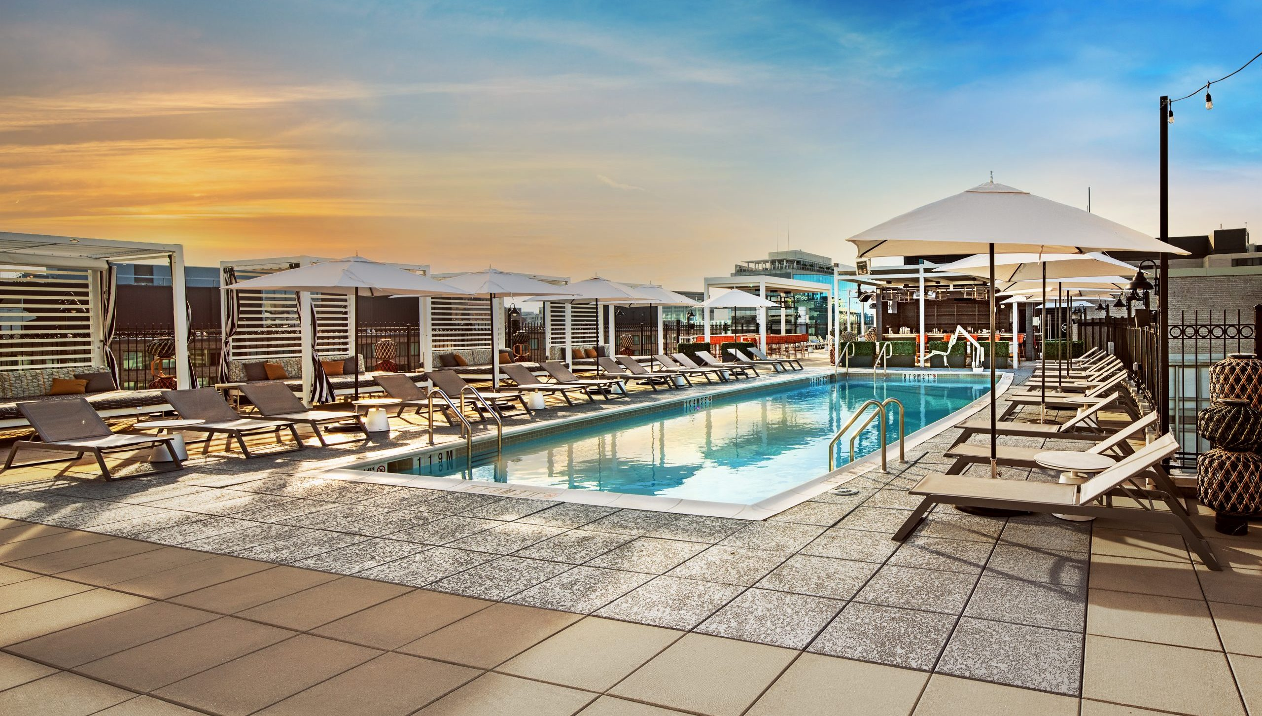 Capitol Hill Hotel's Deck 11 Features Large Pool, Great Views